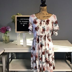Torrid Floral Summer Dress Size 3